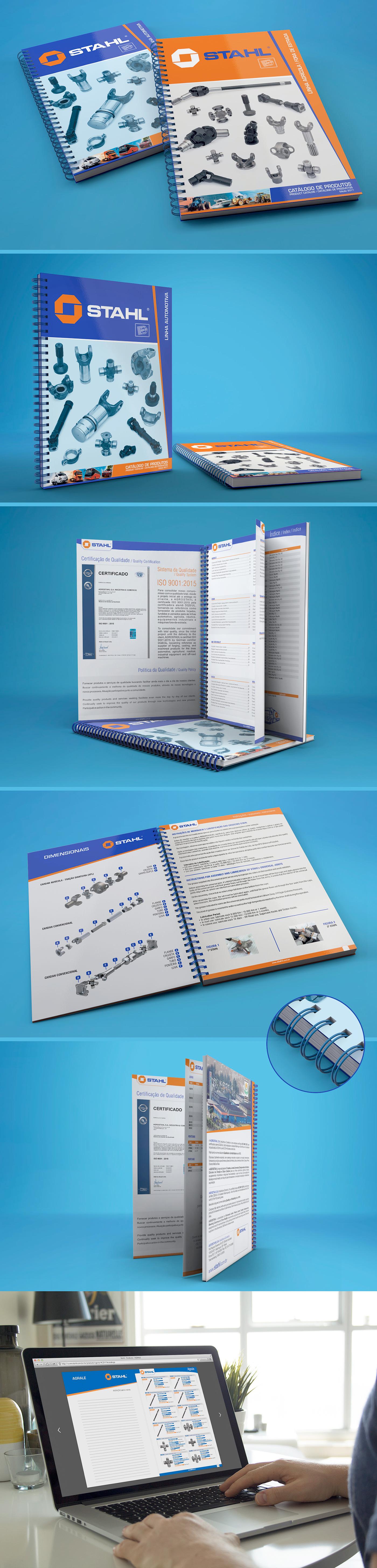 Stahl Catálogo de Produtos