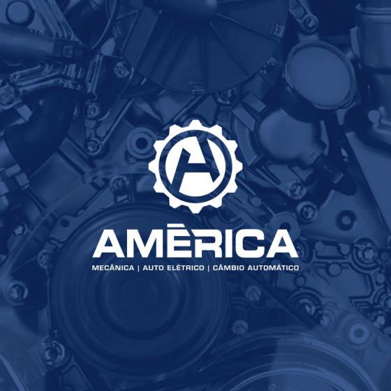 Modernização Logomarca América