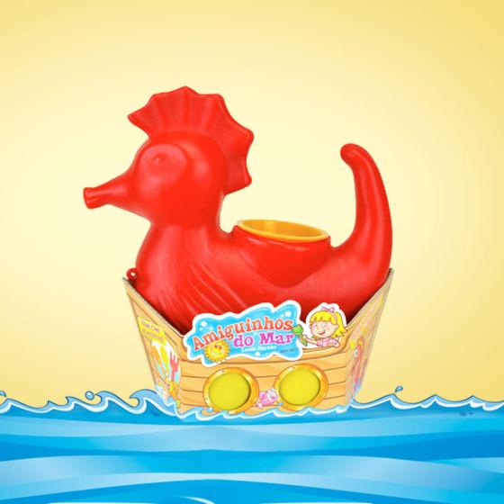 Embalagem Brinquedo Amiguinhos do Mar