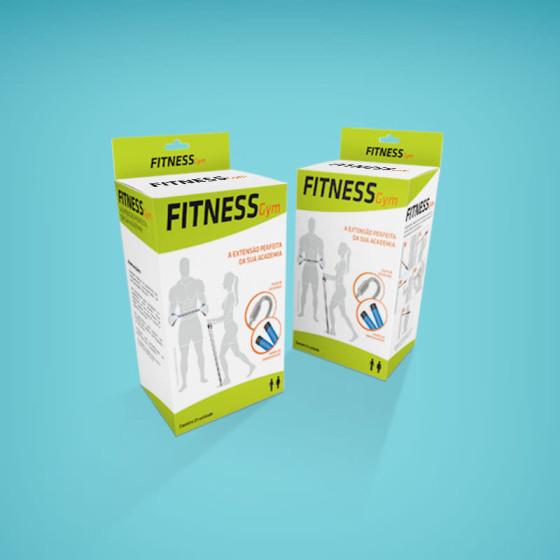 Criação de embalagem Fitness Gym