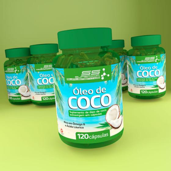 Rótulo Óleo de Coco