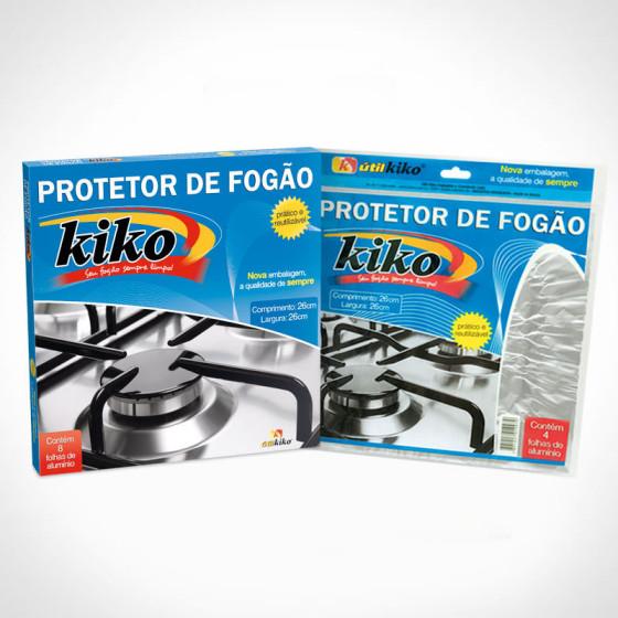 Criação de Embalagens para Protetores de Fogão