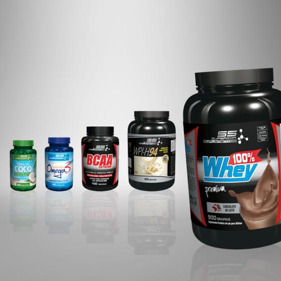 Linha de produtos Superior Suplementos