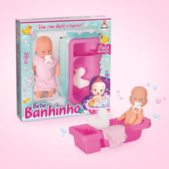 Redesign Embalagem Bebê Banhinho