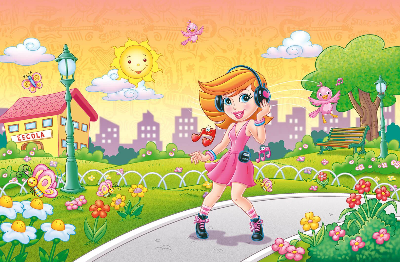 Ilustração Embalagem Drika Alegria