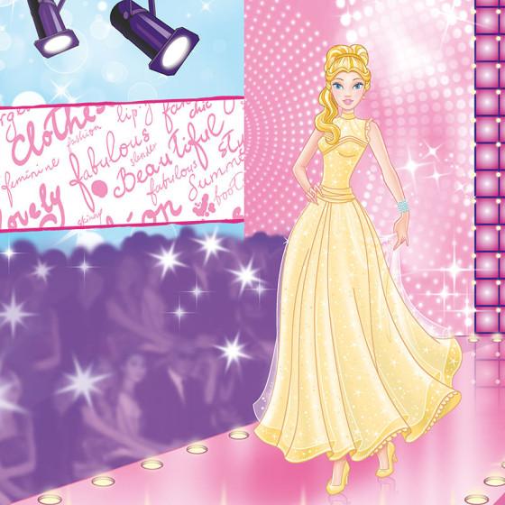 Ilustração Embalagem Garota Fashion Show