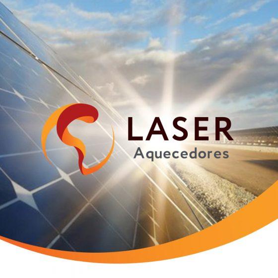 Criação de Logomarca e Comunicação Laser Aquecedores