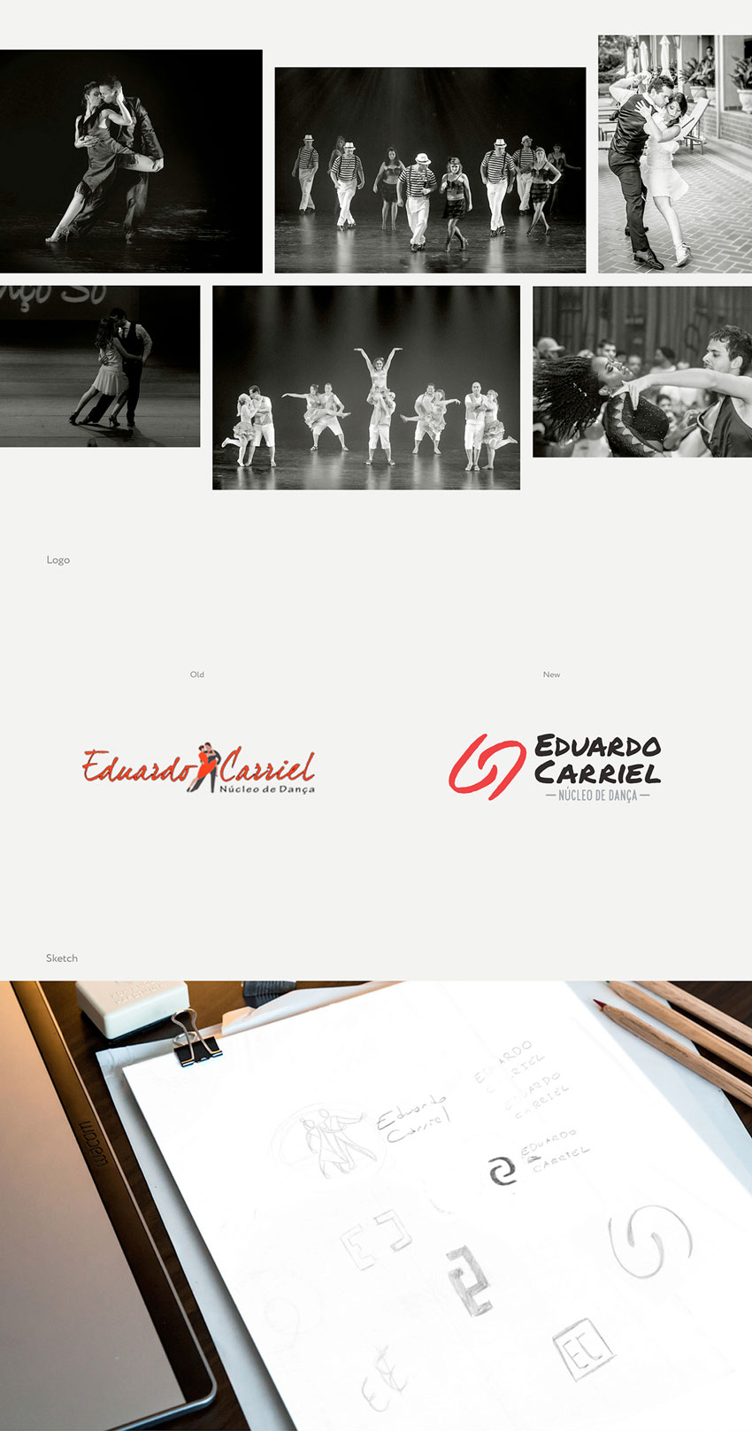 Eduardo Carriel Redesign Marca